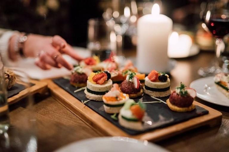 Sharing platter at Louise Restaurant & Bar