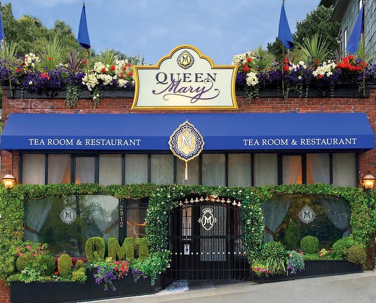 Queen Mary Entrance