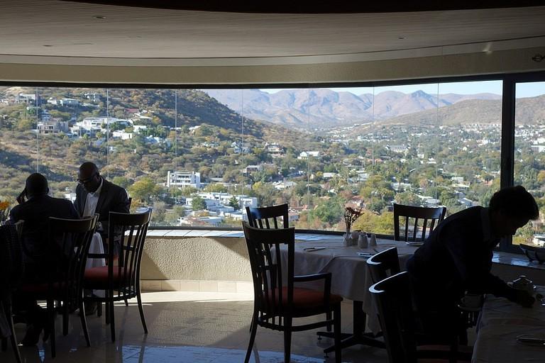 Hotel Thule restaurant views
