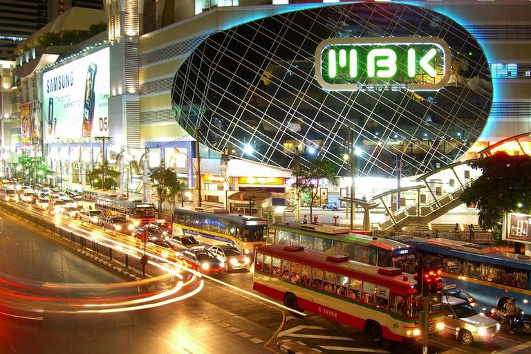 MBK Center, Phayathai Road