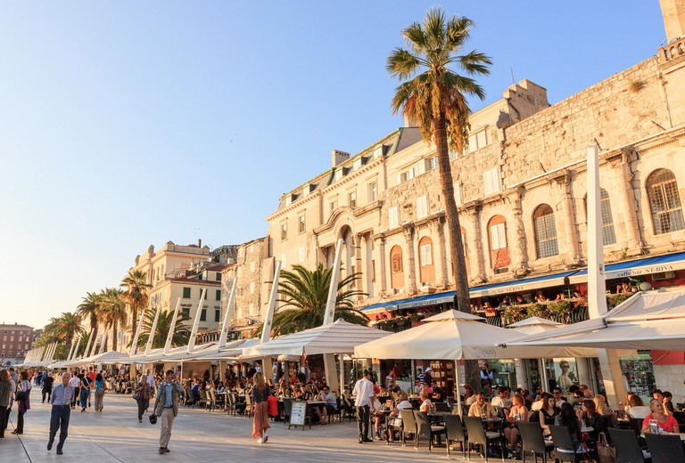 Riva, Split   © Ben Snooks/Flickr
