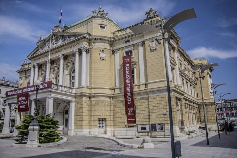 Croatian National Theatre   © stefano Merli/Flickr