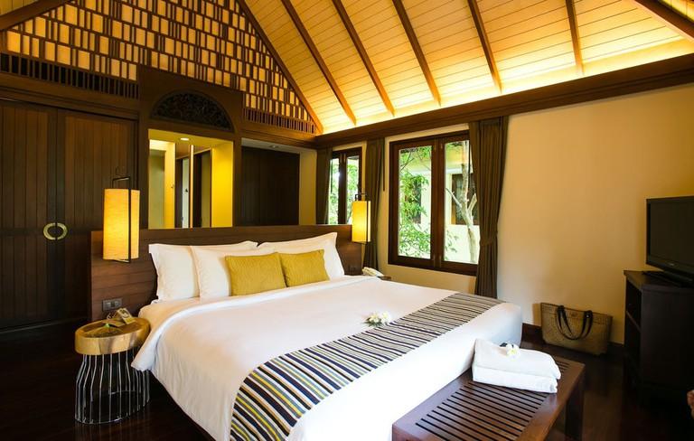 Guest room at Chantaramas Resort