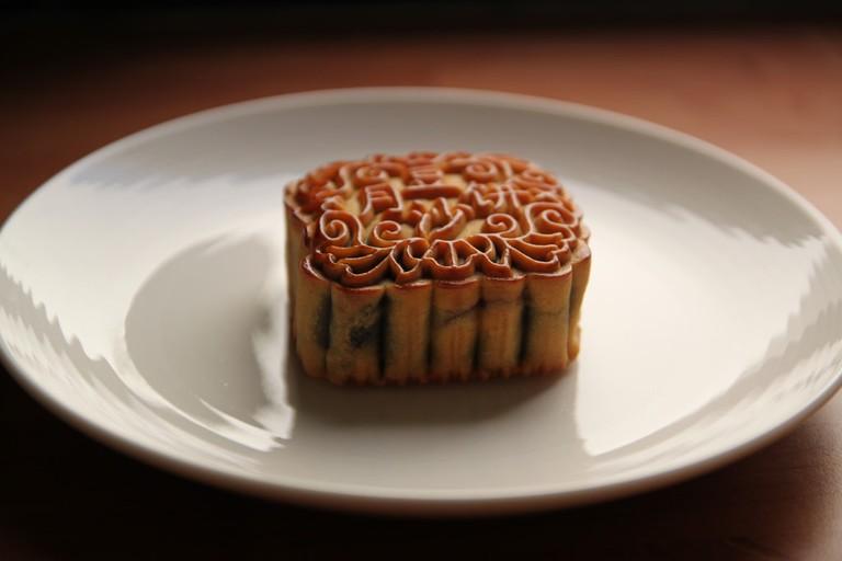 Buy moon cake at Ketsara Bakery