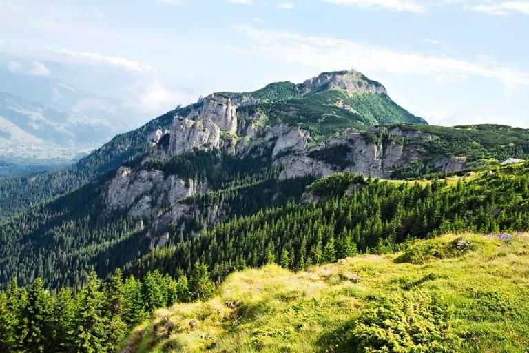 Ceahlau mountains