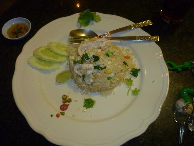 Meal at Coffee Milk, Singburi