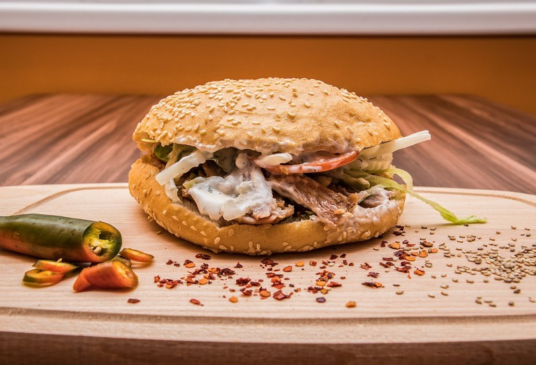 Turkish doner kebab