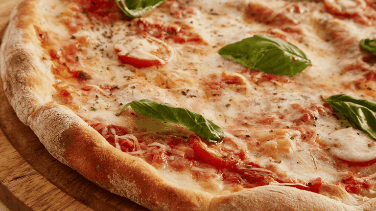 Nothing beats a classic Margherita pizza