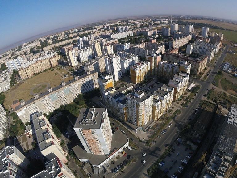 صورة جوية لمستوطنة كوتوفسكوغو