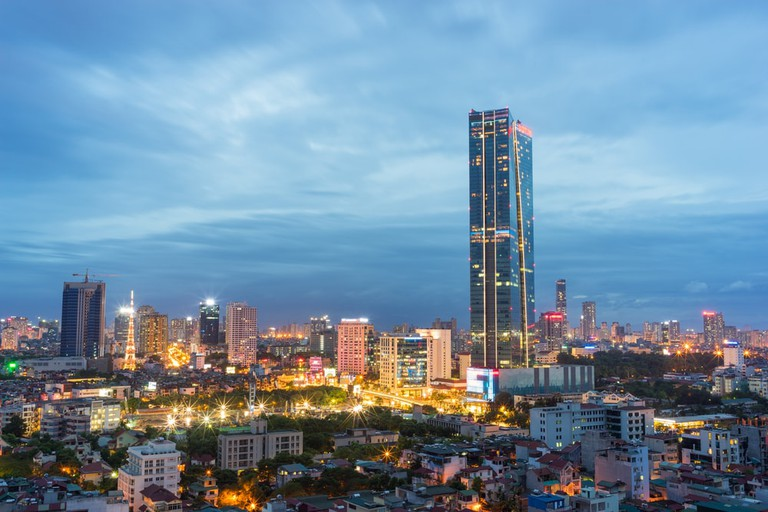 Lotte Tower in Hanoi   © Vietnam Stock Images/Shutterstock