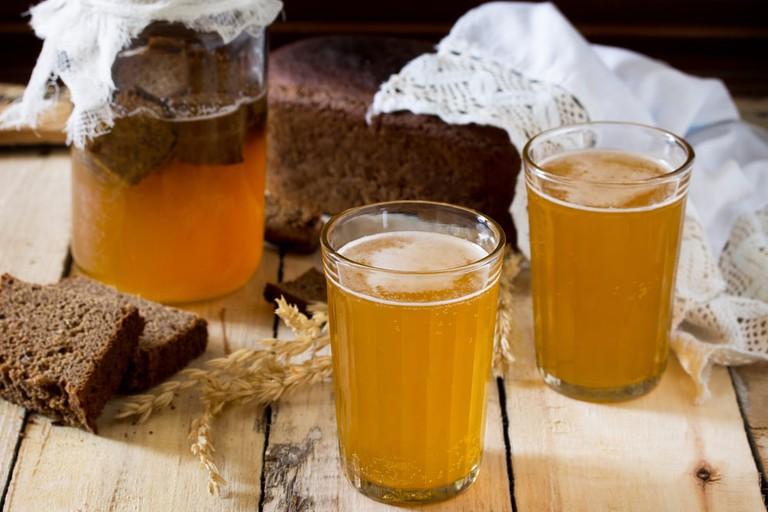 Kvac, a popular fermented beverage originating from Eastern Europe | © Elena Hramova/Shutterstock