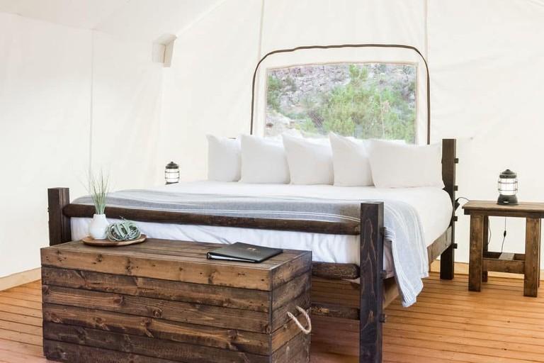 Under Canvas Luxury Tent