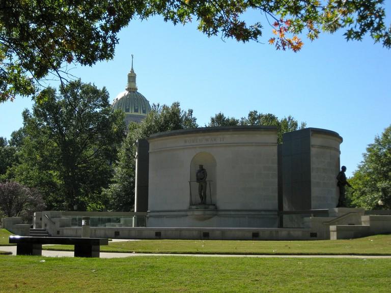 War Memorial with Capitol