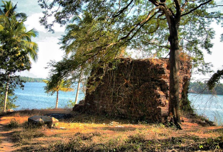 The ruins are also known as Tipu's Fort