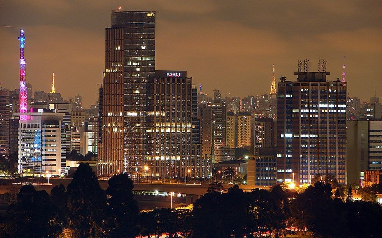 honeymoon hotels in Sao Paulo