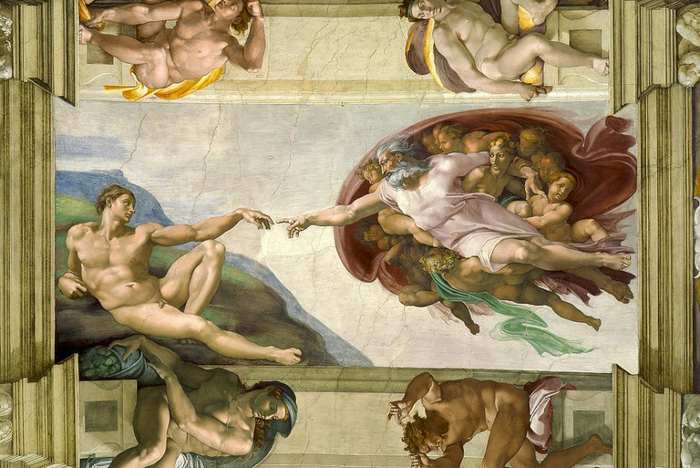 Michelangelo, The Creation of Adam (c. 1511)