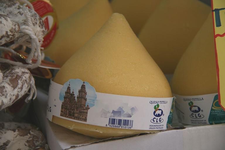 Galician Tetilla cheese