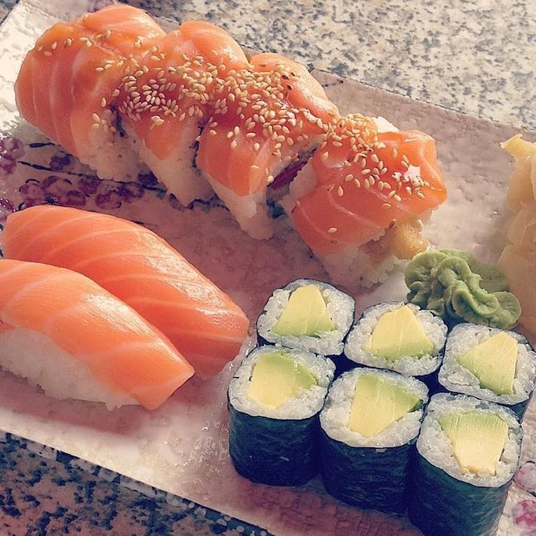 Sushi at Izumi