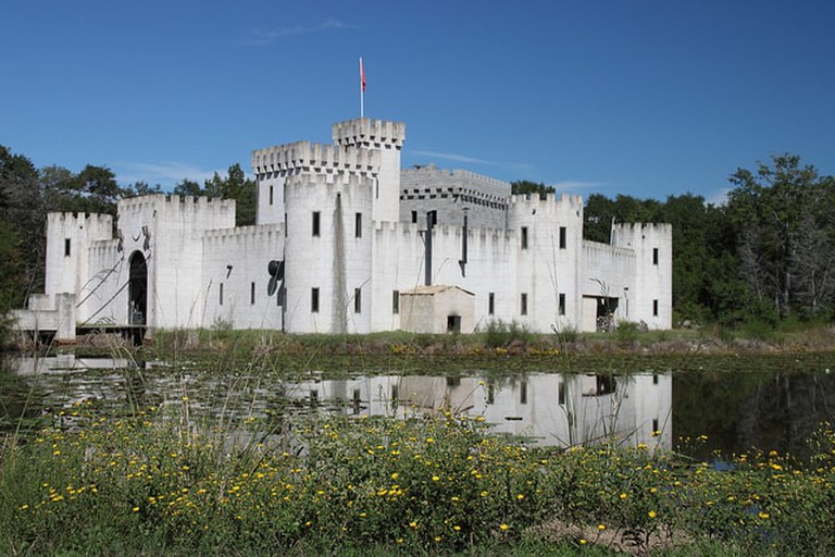 Newman's Castle was built by a Bellville, Texas local, inspired by the castles of Europe