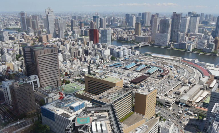 View from Tokyo Shiodome