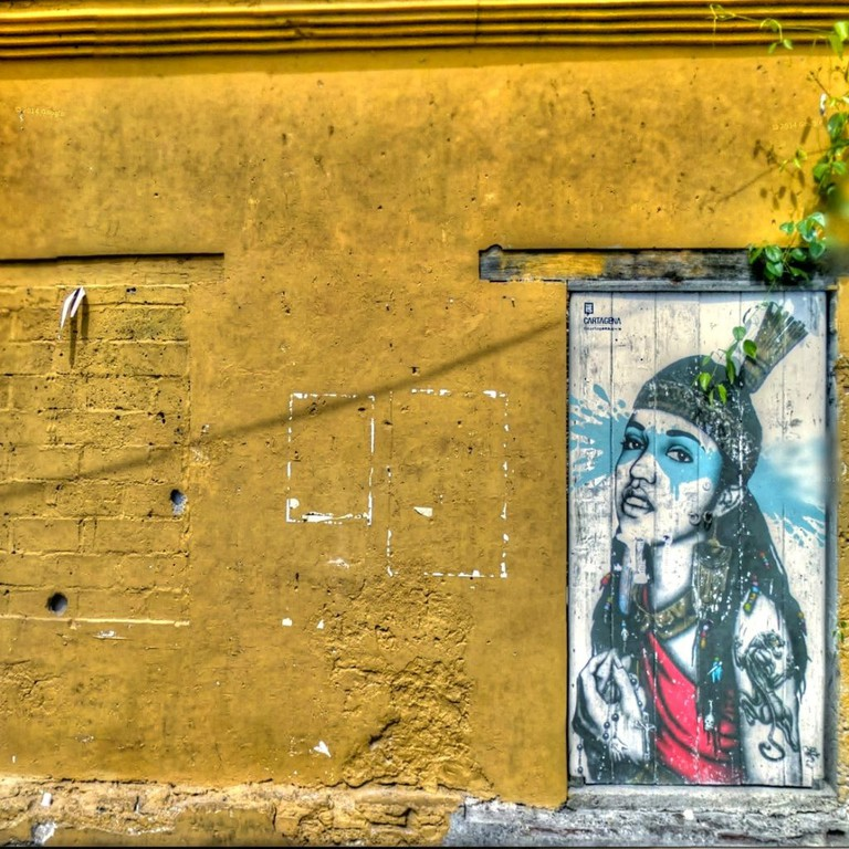 Getsemani is famous for its street art scene