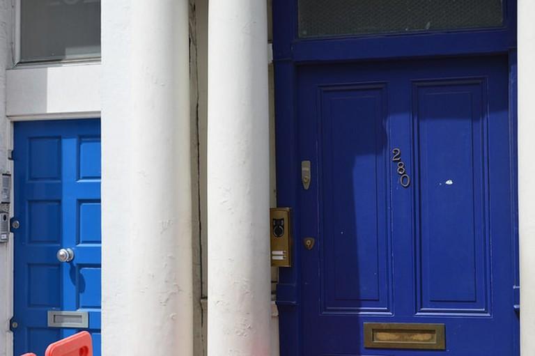 Notting Hill Blue Doors