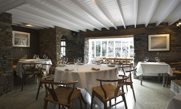 Diners are encouraged to slow down, settle in and engage at Mews