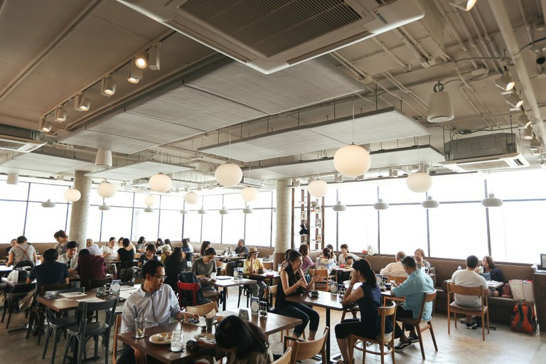 Head to Roots and Roast, which are both housed inside The Commons
