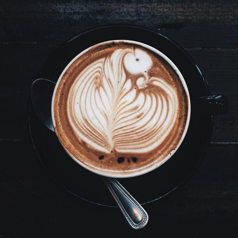 Coffee at Java Lounge