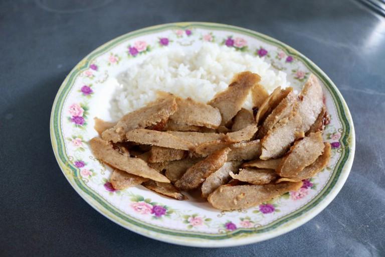 Vegan dish at Lee Jae