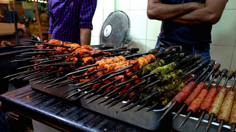 Barbecued Indian Street Food