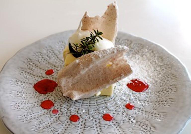 Patisserie Tomoko's ricotta cheesecake