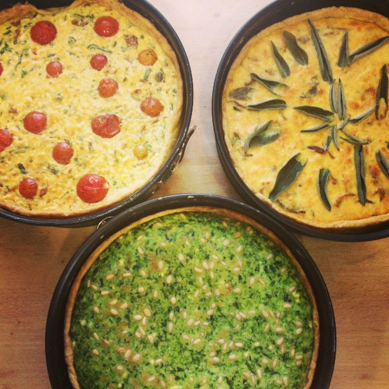 Three delicious pies from Bazilika