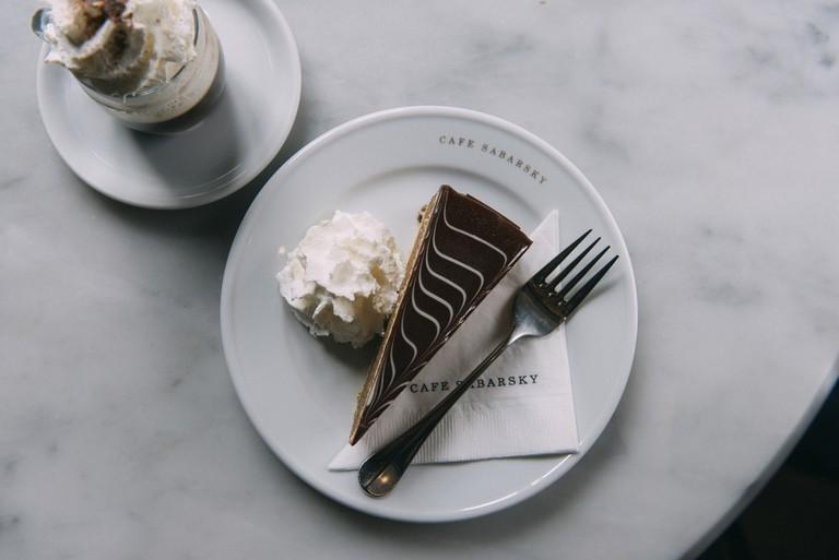 Sabarskytorte (chocolate & rum cake)