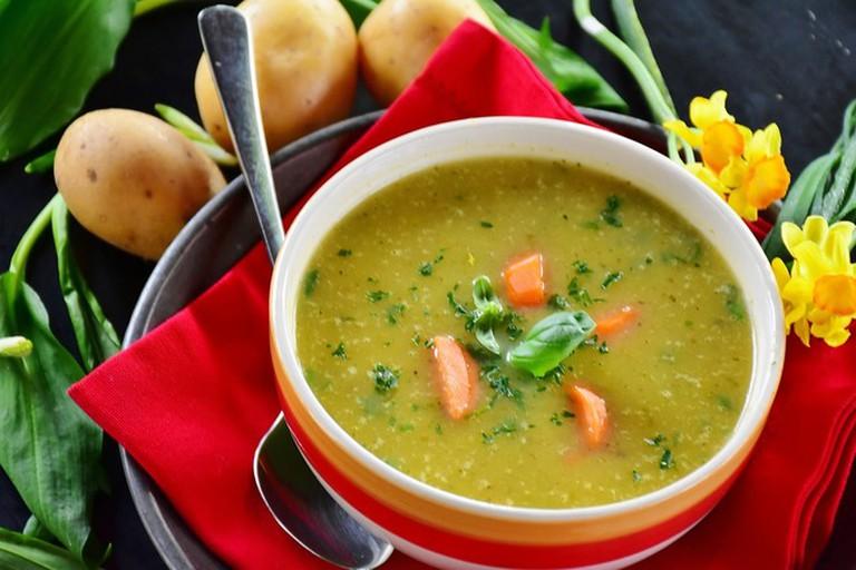 Yummy potato soup
