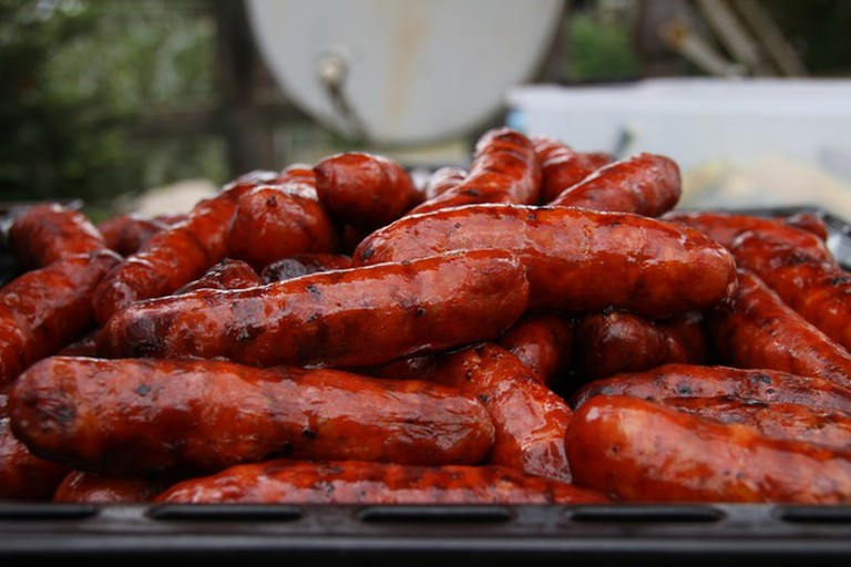 Try the sausages at Casa El Pisto