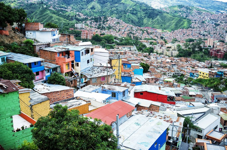 Comuna 13 in Medellin
