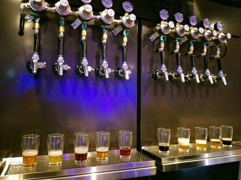 Draft Beer at LBK