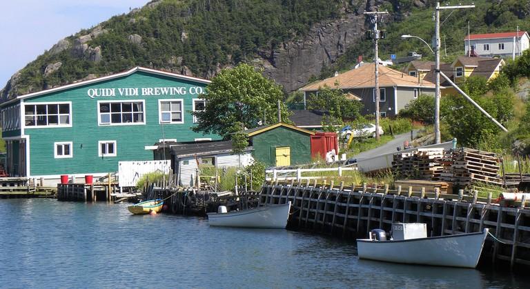 Quidi Vidi's waterfront location