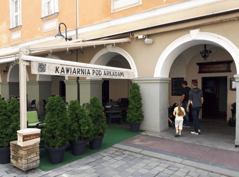 Kawiarnia Pod Arkadami, Opole