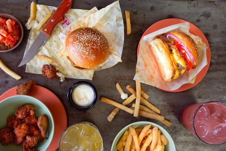 Food at Ume Burger