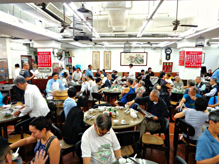 Lin Heung Tea House Hong Kong Dim Sum