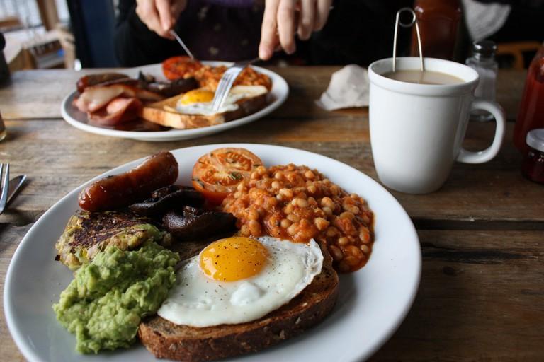 Full English Breakfast with Tea