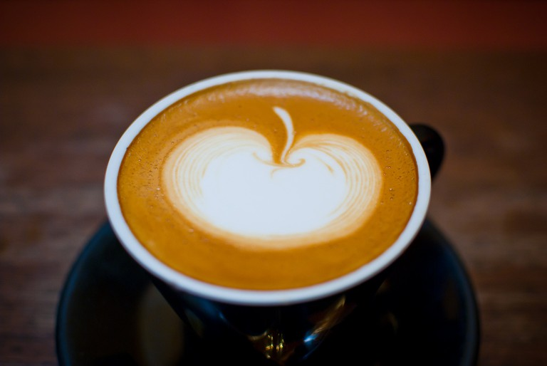 Start the day with a cappuccino at Mama Lilia