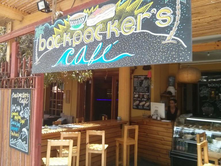 Bar at Backpacker's Cafe