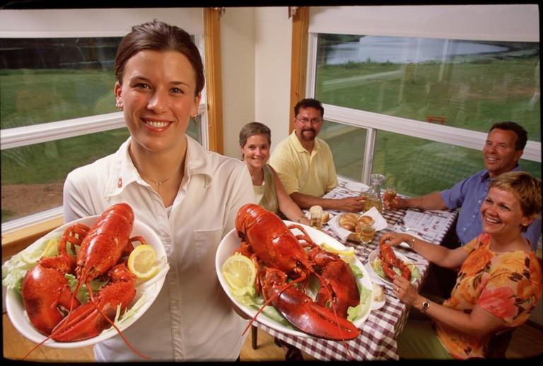 Lobster Dinner