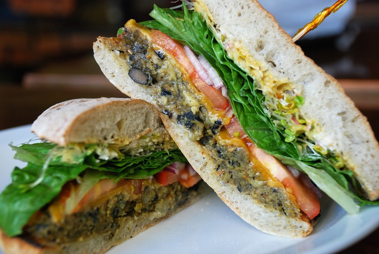 The Farmacy does a great veggie burger