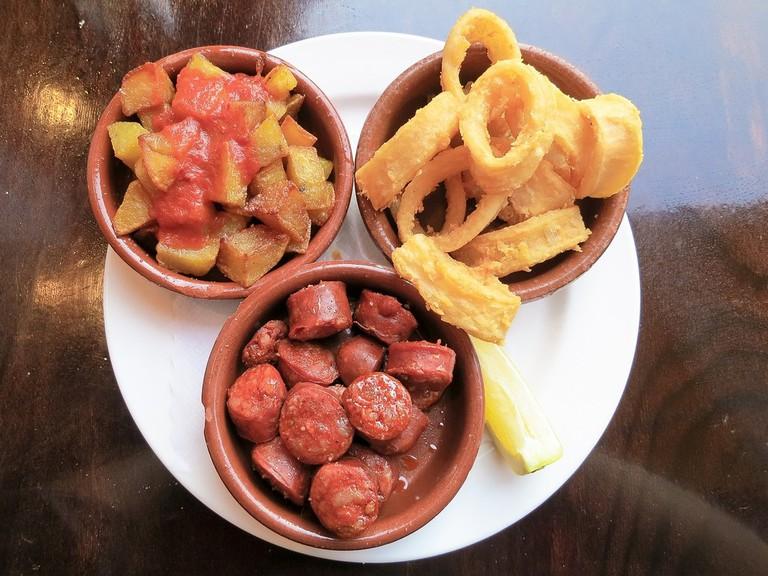 Enjoy homemade tapas as Bar Guerola