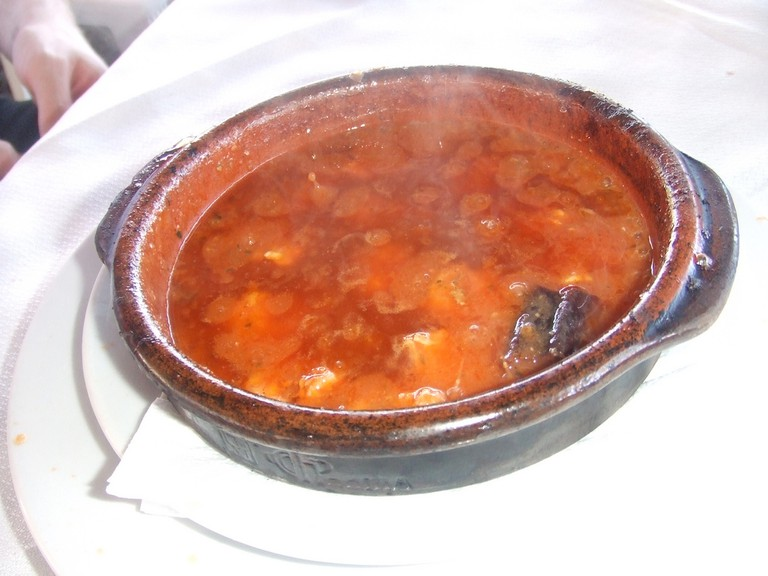 Try the gambas al pil pil (spicy prawns) at Bar El Estrecho