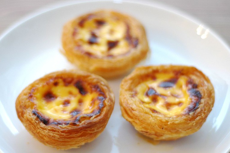 Pastéis de nata are one of the shop specialties